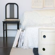 Chair provided by Garden Style Living and design by LeanneFordInteriors.com as seen on Domino.com